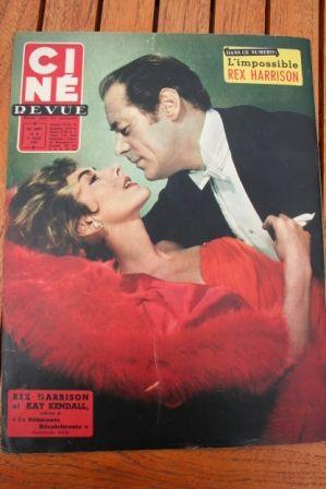Rex Harrison Kay Kendall