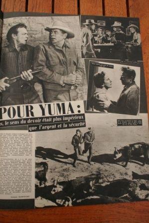 Glenn Ford Van Heflin Felicia Farr 3:10 to Yuma