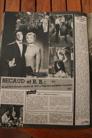 Brigitte Bardot Gerard Becaud