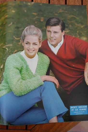 Ricky Nelson And His Wife