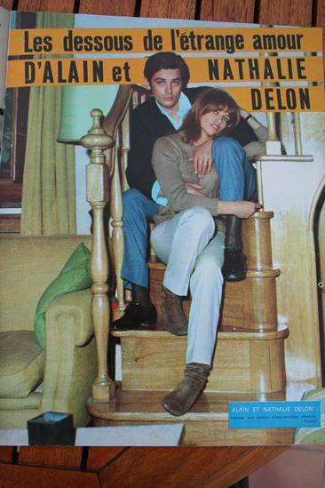 Alain Delon Nathalie Delon