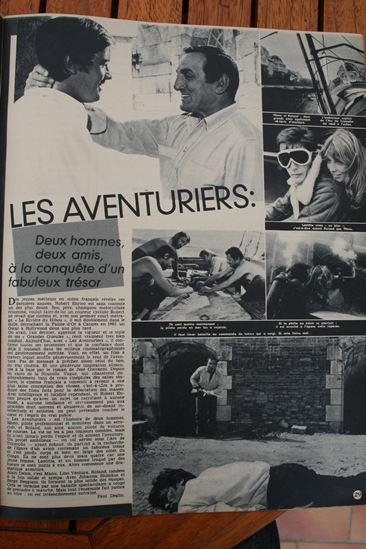 Alain Delon Lino Ventura Les aventuriers