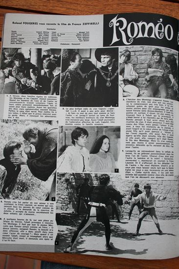 Leonard Whiting Olivia Hussey Romeo and Juliet
