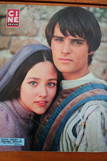Olivia Hussey Leonard Whiting Romeo And Juliet