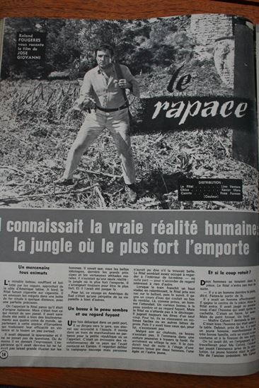 Lino Ventura Rosa Furman Le Rapace