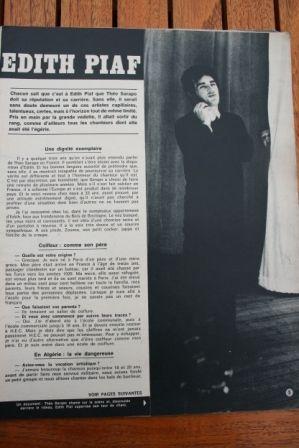 Edith Piaf Theo Sarapo
