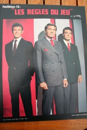 Robert Stack Gene Barry Tony Franciosa