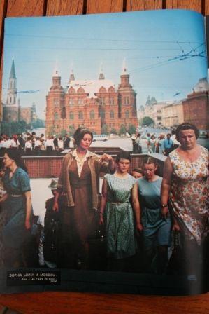 Sophia Loren In Moscow