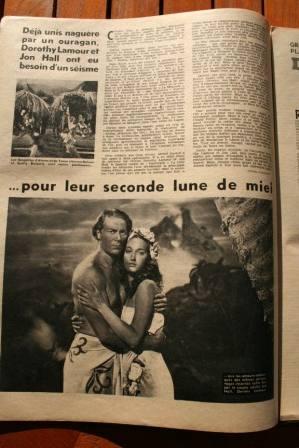 Dorothy Lamour Jon Hall