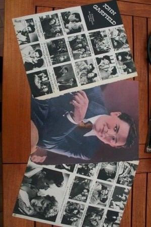 Clippings John Garfield