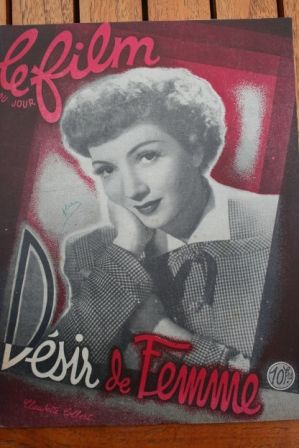 Claudette Colbert Don Ameche Dick Foran