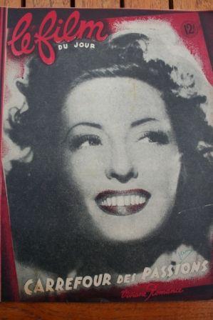 Viviane Romance Valentina Cortese Clement Duhour