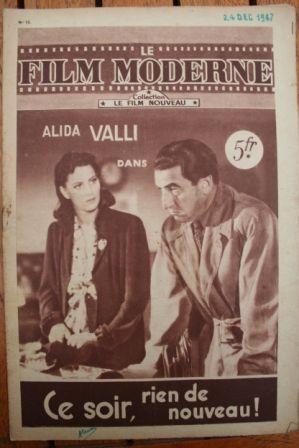 Alida Valli Carlo Ninchi Antonio Gandusio