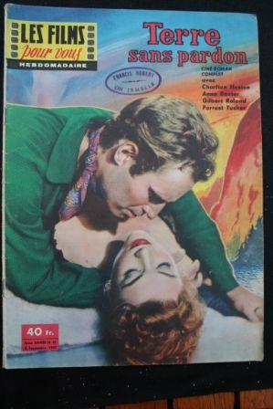 Charlton Heston Anne Baxter Tom Tryon