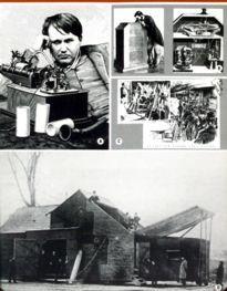 Movie Card Collection Monsieur Cinema: Thomas Edison