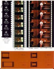 Movie Card Collection Monsieur Cinema: Formats Des Pellicules (2E Partie)