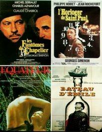 Movie Card Collection Monsieur Cinema: Georges Simenon Au Cinema (II) Les Adaptations