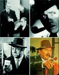 Movie Card Collection Monsieur Cinema: Georges Simenon Au Cinema (III) Le Commissaire Maigret