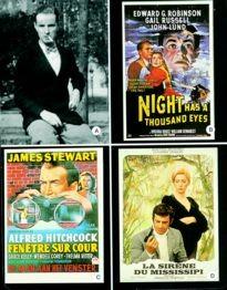 Movie Card Collection Monsieur Cinema: William Irish Au Cinema