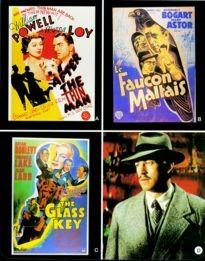 Movie Card Collection Monsieur Cinema: Dashiell Hammett Au Cinema