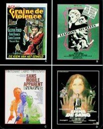 Movie Card Collection Monsieur Cinema: Ed Mcbain Au Cinema