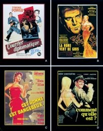 Movie Card Collection Monsieur Cinema: Peter Cheyney Au Cinema