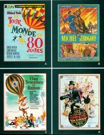 Movie Card Collection Monsieur Cinema: Jules Verne Au Cinema