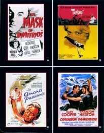 Movie Card Collection Monsieur Cinema: Eric Ambler Au Cinema