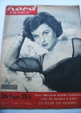 Susan Hayward On Front Cover