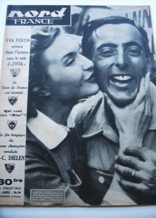 Line Renaud Fausto Coppi On Front Cover