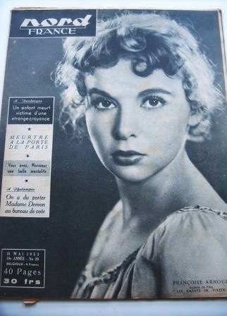 Francoise Arnoul On Front Cover