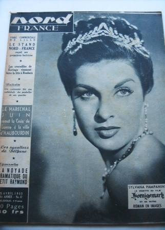 Silvana Pampanini On Front Cover