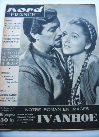 Robert Taylor Joan Fontaine On Front Cover