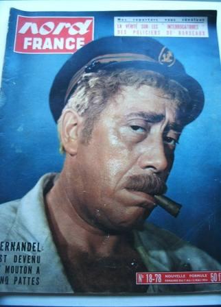 Fernandel On Front Cover