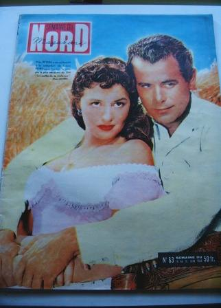 Glenn Ford May Wynn On Front Cover