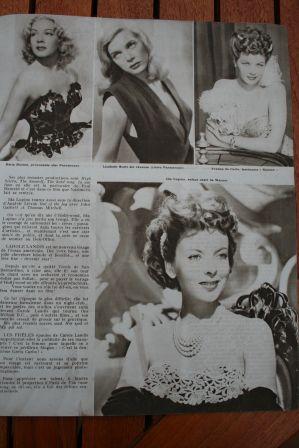 Betty Hutton Lizabeth Scott Yvonne De Carlo