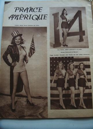 Jane Harker Peggy Knudsen Virginia Welles