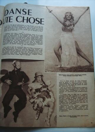 Betty Grable Anita Alvarez