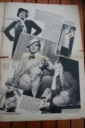 Marlene Dietrich Myrna Loy