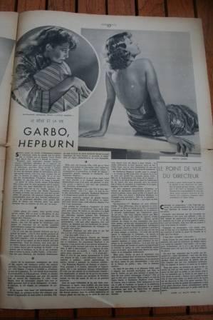 Katharine Hepburn Greta Garbo