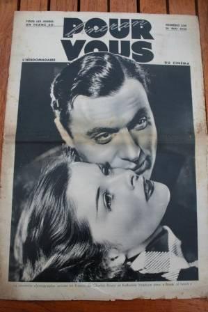 Katherine Hepburn Charles Boyer