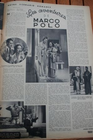 Gary Cooper Sigrid Gurie Marco Polo