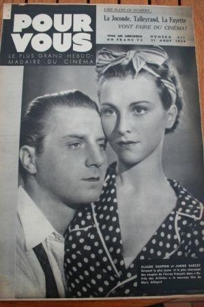Claude Dauphin Janine Darcey