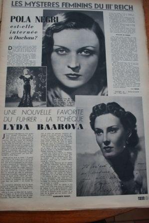 Pola Negri Lyda Baarova