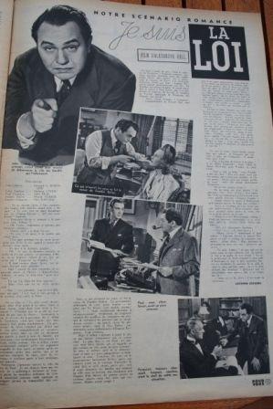 Edward G. Robinson Barbara O'Neil