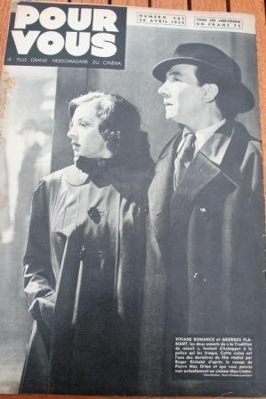Viviane Romance Georges Flamant