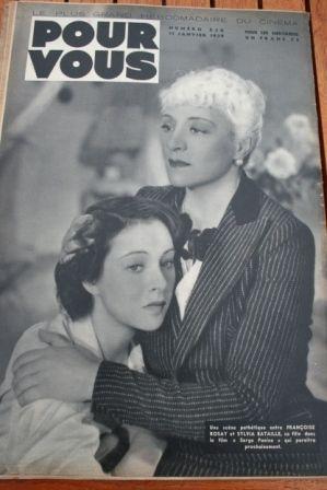 Francoise Rosay Sylvia Bataille
