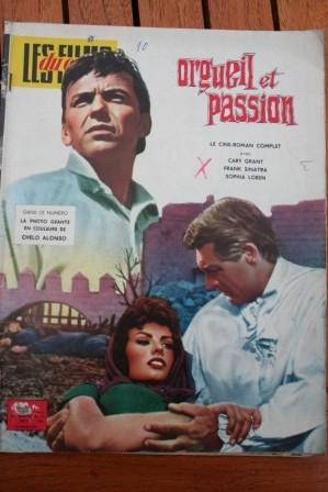 Sophia Loren Cary Grant Frank Sinatra