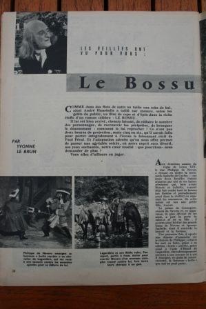 Le Bossu Jean Marais