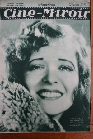 1933 Clara Bow Maurice Chevalier Jeanette MacDonald